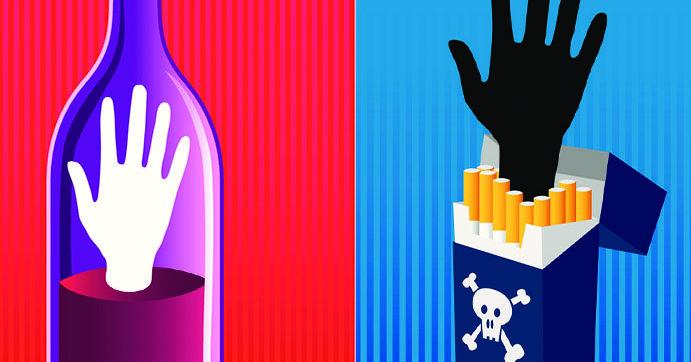 addiction alcool et tabac